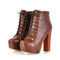 Ankle blogger boots - 4 colors - winter fall brown black fashion trend | awesome world - online store