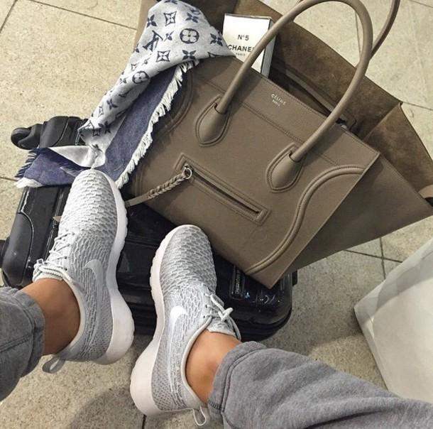 Shoes Grey Nike Running Shoes Nike Shoes Nike Shoes Womens Roshe Runs Nike Shoes For Women