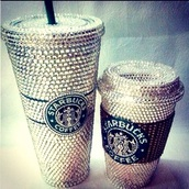home accessory,starbucks coffee,diamonds,mug,sparkle,dope,travel mug