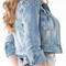 Tiffany spiked denim jacket | shop maneater