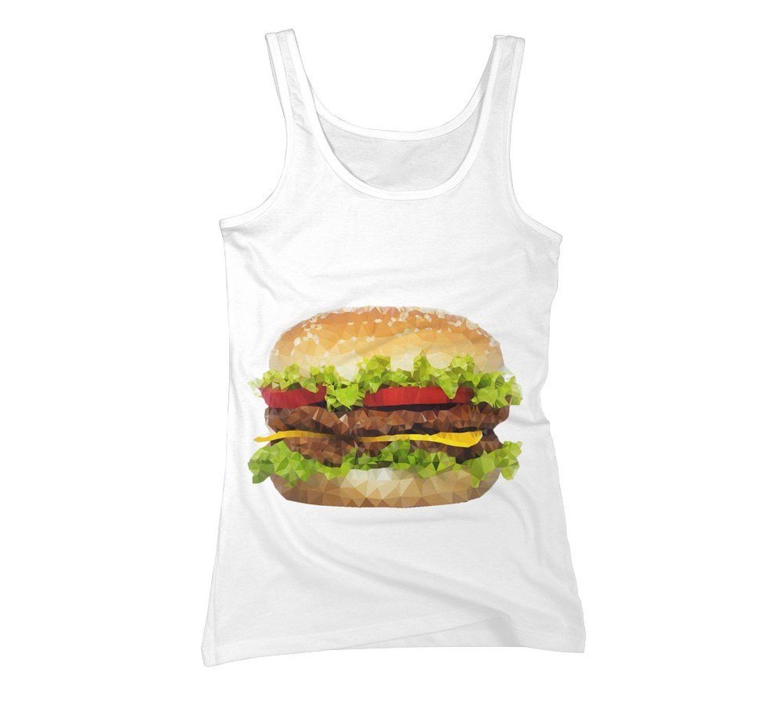Amazon.com: triangular hamburger women's graphic tank top