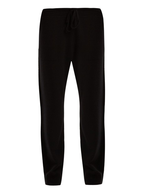 Vince pants track pants wool black