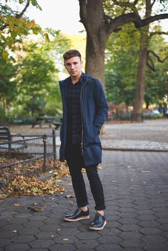 scout sixteen blogger jeans jacket menswear parka