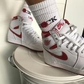 shoes,jordans,nike,red,sneakers
