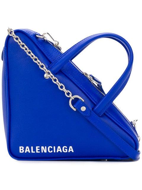 Balenciaga Triangle Duffle XS Chain Bag - Farfetch