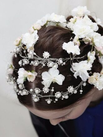 hair accessory tiara wedding accessories wedding hairstyles bridesmaid flowers