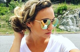 sunglasses quay australia cherry bomb gold ootd summer gold sunglasses mirrored sunglasses