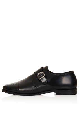 KAVA Brogue Monk Shoes - Flats  - Shoes  - Topshop