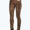 Jess mid rise leopard skinny jeans