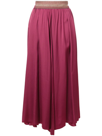 skirt pleated skirt pleated women spandex purple pink