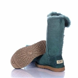 Sale Ugg Bailey Button Triplet 1873 Boots Dark Green PM004, cheap sale