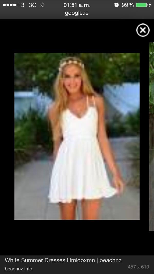 dress white dress summer dress