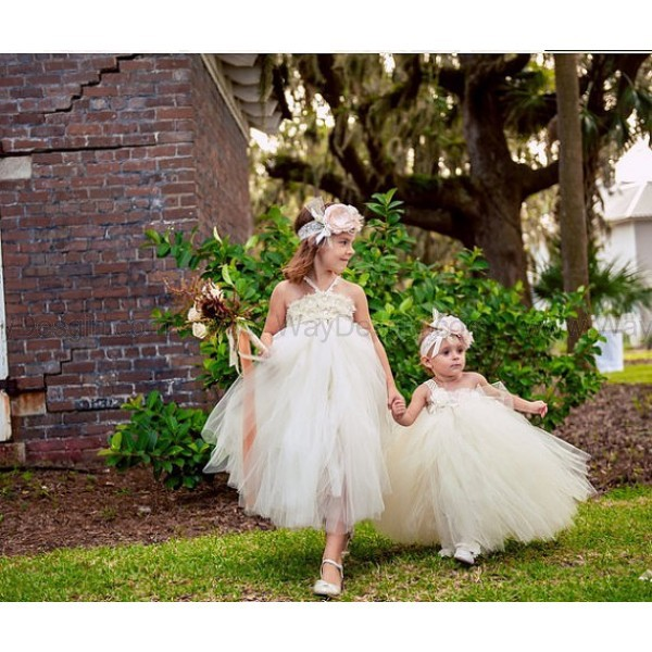 flower girl dress toddler birthday dress ivory dress dress
