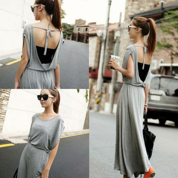 dress i4out open back fashion look lookbook clothes clothes celebrity swag streetstyle long prom dress
