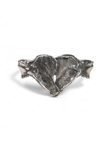 Jaws Bone Bracelet - Silver   NOT JUST A LABEL