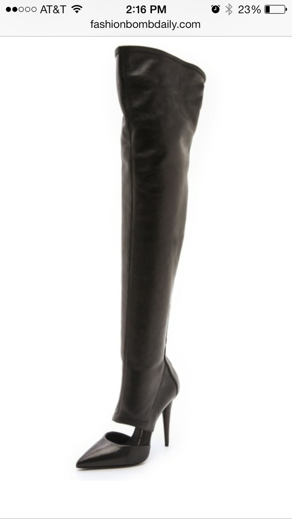 thigh high boots shoes