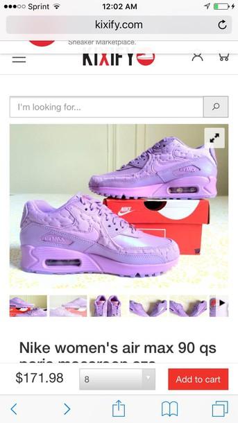 Rusia Para un día de viaje erótico  shoes, nike air max 90, lilac, nike, sneakers - Wheretoget