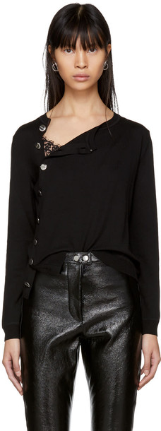 Altuzarra sweater crewneck sweater black