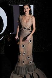 dress,selena gomez,sexy sheer dress