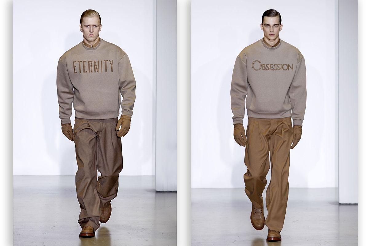 Calvin Klein Obsession Sweatshirt - Menswear Week - Elle
