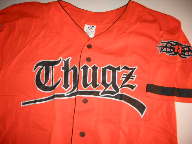 Tazz Thugz Orange Tazzmission Jersey Shirt New | eBay