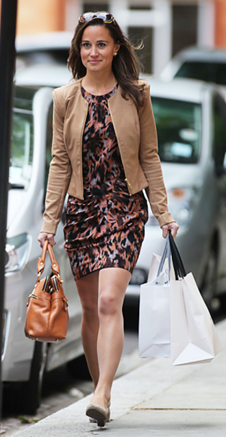 jacket pippa middleton brown jacket