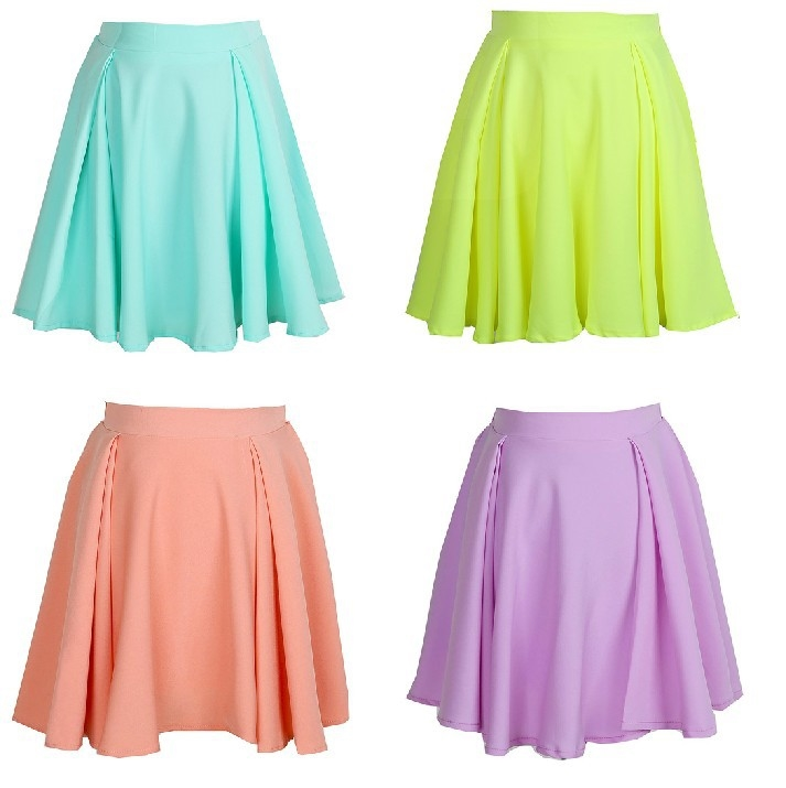 Candy high waist skirt