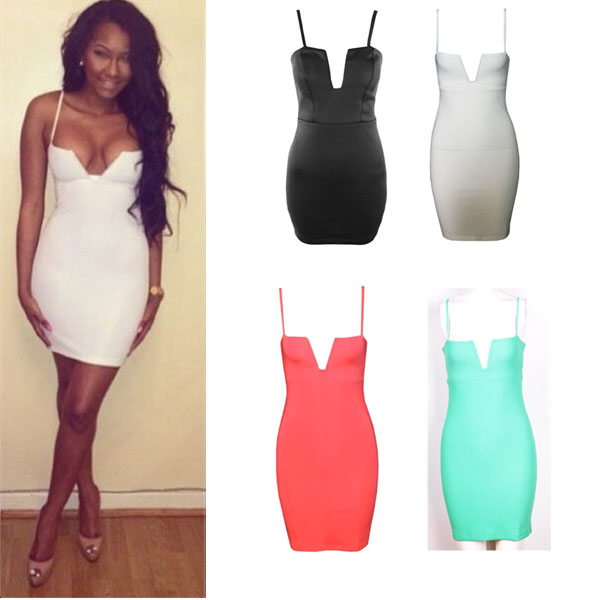 0ed546a18e22 Fashion V-neck bodycon dress. Party Dress · FE CLOTHING · Online Store  Powered by Storenvy
