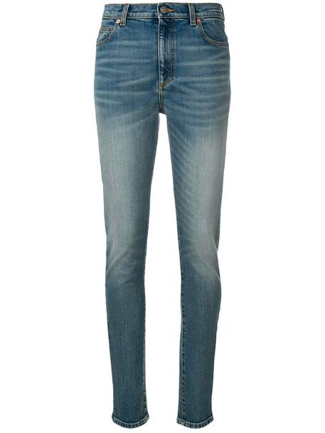gucci jeans skinny jeans women spandex cotton blue