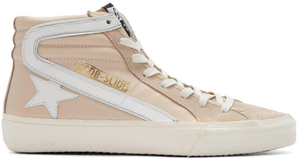 Golden goose high sneakers pink shoes