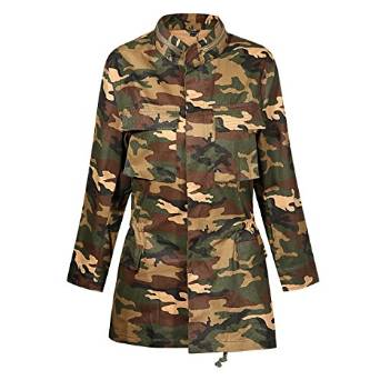 haoduoyi Womens Loose Camouflage Coats Disposition Outwear Jackets at  Amazon Women's Coats Shop