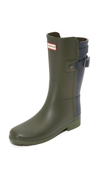 short dark boots navy shoes