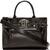 Versace - Black Nappa Leather Emblem Tote | SSENSE