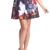 ROMWE | ROMWE Christmas Cats Print Skirt, The Latest Street Fashion
