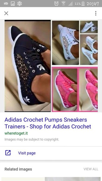 shoes, adidas, crochet sneakers, lace adidas, anyone