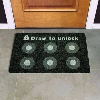 tank top paillasson doors home accessory doormat geek