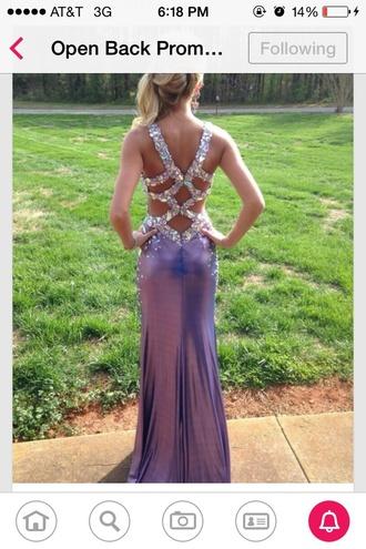 long sparkles prom dress prom dress backless dress backless prom dress purple dress purple prom dresses long prom dress sparkley