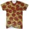 Pizza all over print t shirt