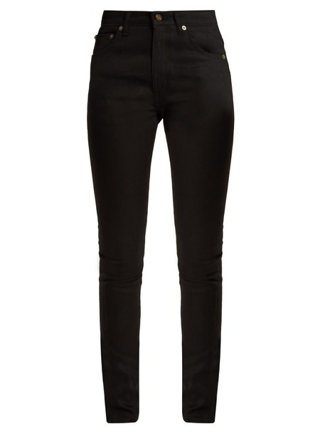 Saint Laurent jeans skinny jeans black