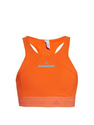 bra back orange underwear