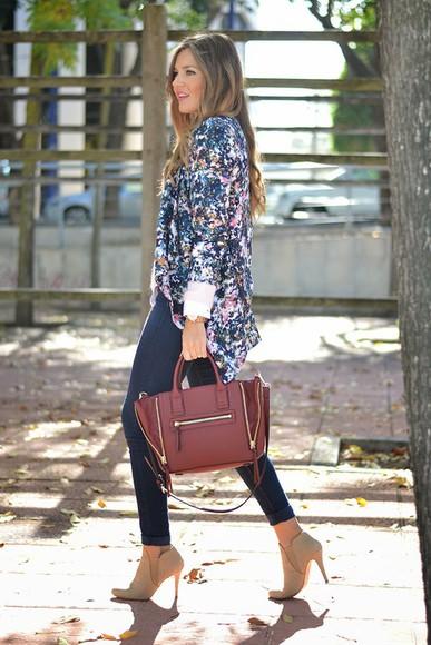 blogger jeans white shirt jewels mi aventura con la moda blazer jumper