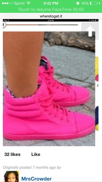 pink shoes pink sneakers