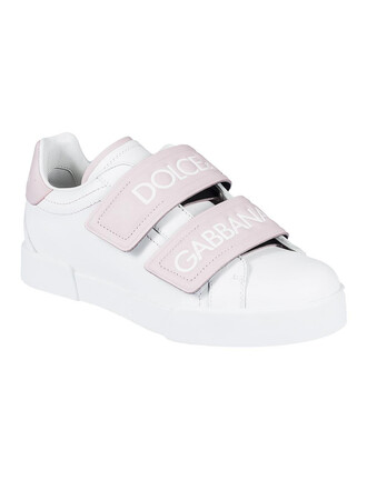 sneakers white pink shoes