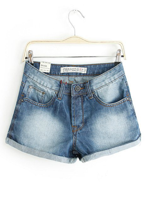 2014 Cotton Street Denim Shorts : KissChic.com