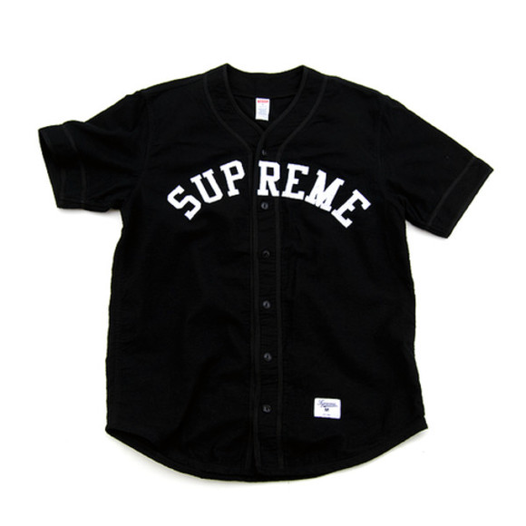 supreme style sportswear blouse jersey baseball baseball tee baseball jersey dress sportswear sports jersey button down