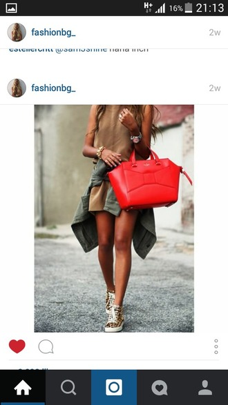 bag red bag mk red bag red purse women bags women bag sliver women bags