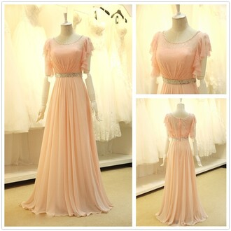 dress prom prom dress maxi maxi dress long long dress pastel belt crystal cute cute dress trendy girly fabulous special occasion dress dressofgirl fashion style stylish fashionista pretty love bridesmaid