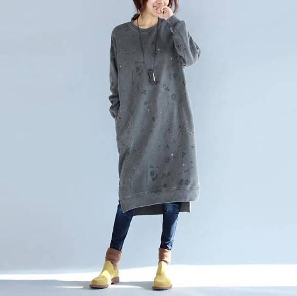 dress cotton dress bottoming dress