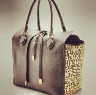 bag purse taupe