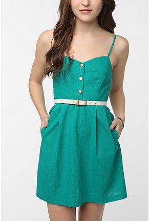 Cope linen sightseer dress